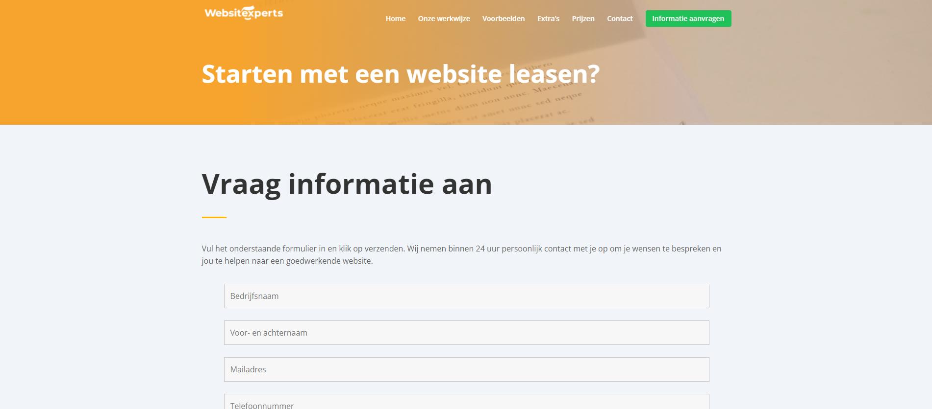 voorbeeld websitexperts 2